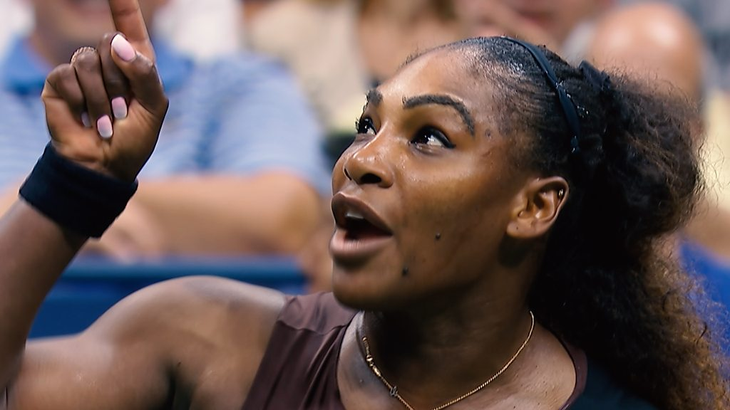 BBC TENNIS: US Open 2018: Watch as Serena Williams calls umpire 'liar' and 'thief'
