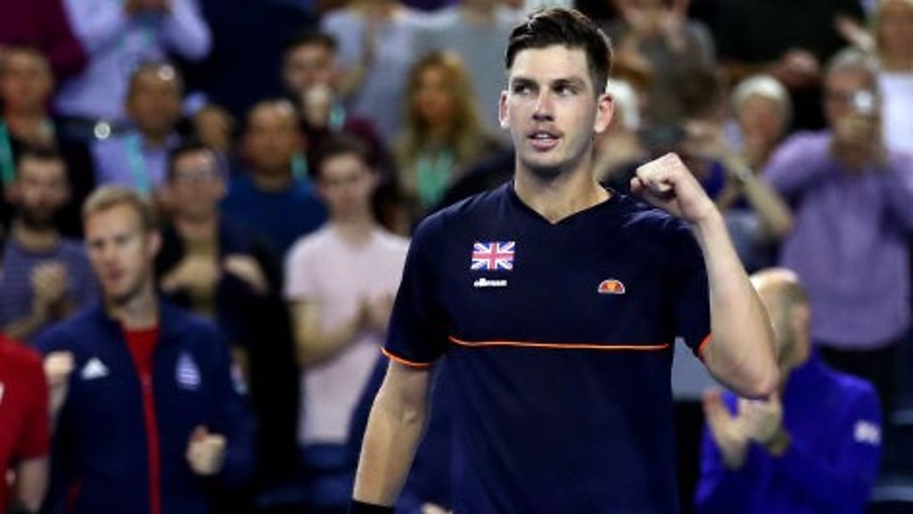 BBC TENNIS: Davis Cup: Cameron Norrie wins to give GB victory over Uzbekistan in Glasgow