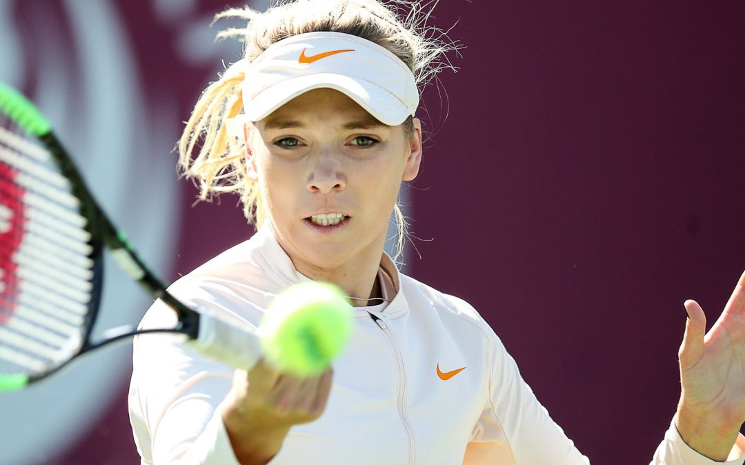 BBC TENNIS: Britain's Boulter ranked in top 100 for first time