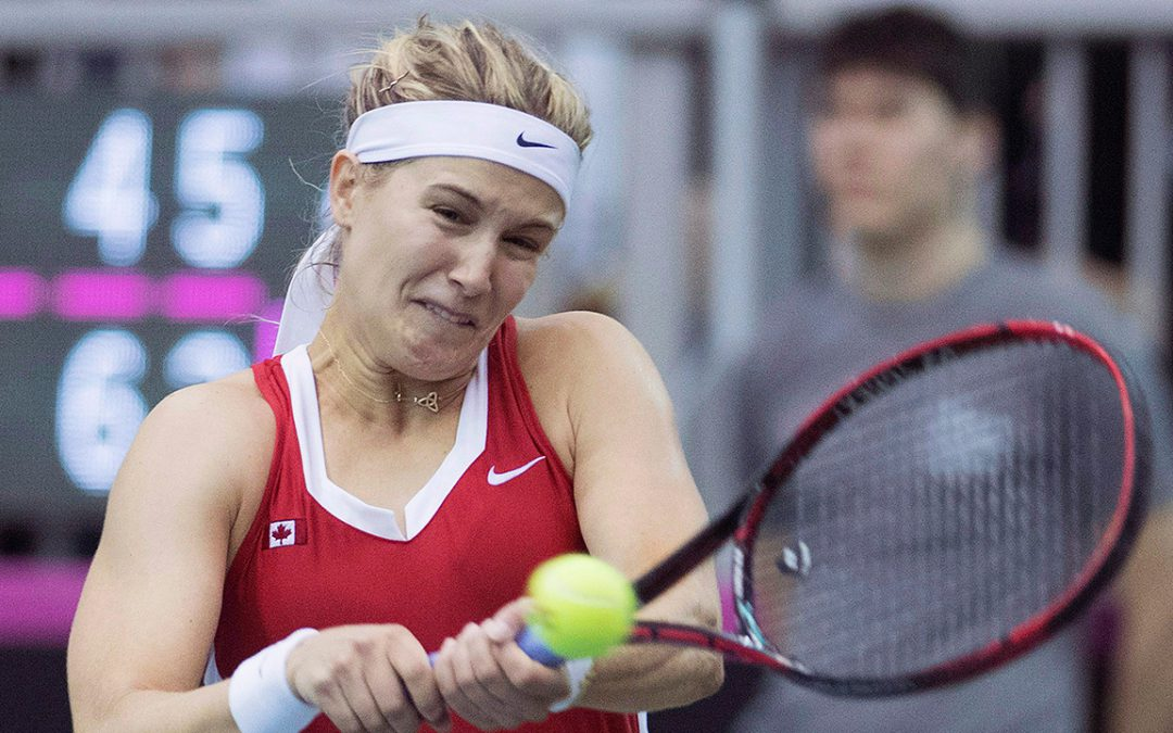SPORTSNET TENNIS: Canada to face Netherland's on clay in next Fed Cup tie