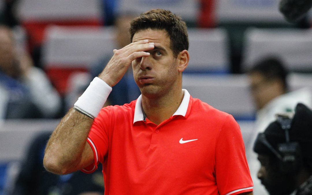 SPORTSNET TENNIS: Del Potro calls knee fracture a 'hard blow'