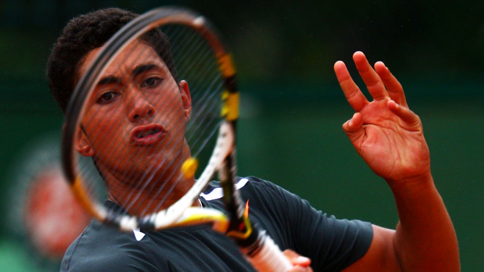 BBC TENNIS: Karim Hossam: The rise and fall of a match-fixing tennis prodigy