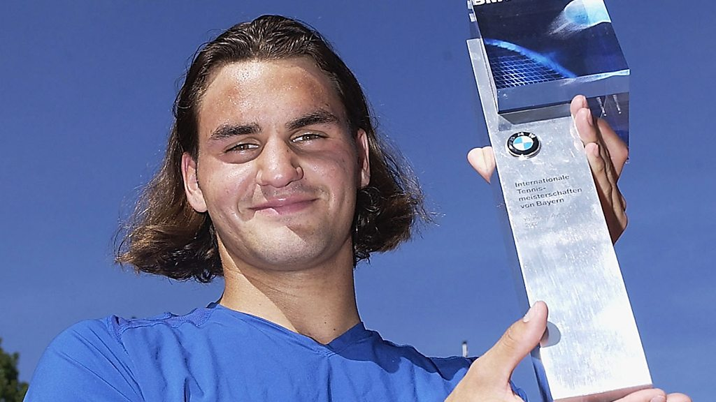 BBC TENNIS: Federer through the ages – 100 photos with every trophy