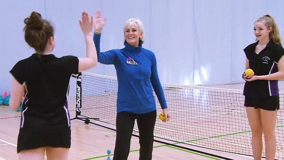 BBC TENNIS: International Women's Day: Judy Murray on inspiring female tennis coaches