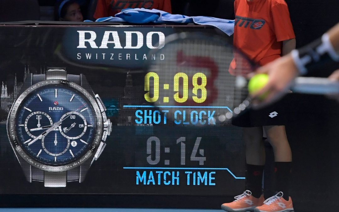 BBC TENNIS: Shot clocks: ATP to use device at all Tour events from 2020
