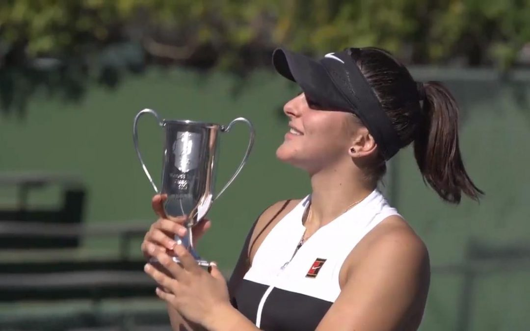 SPORTSNET TENNIS: Andreescu talks about her first WTA title and playing for Canada
