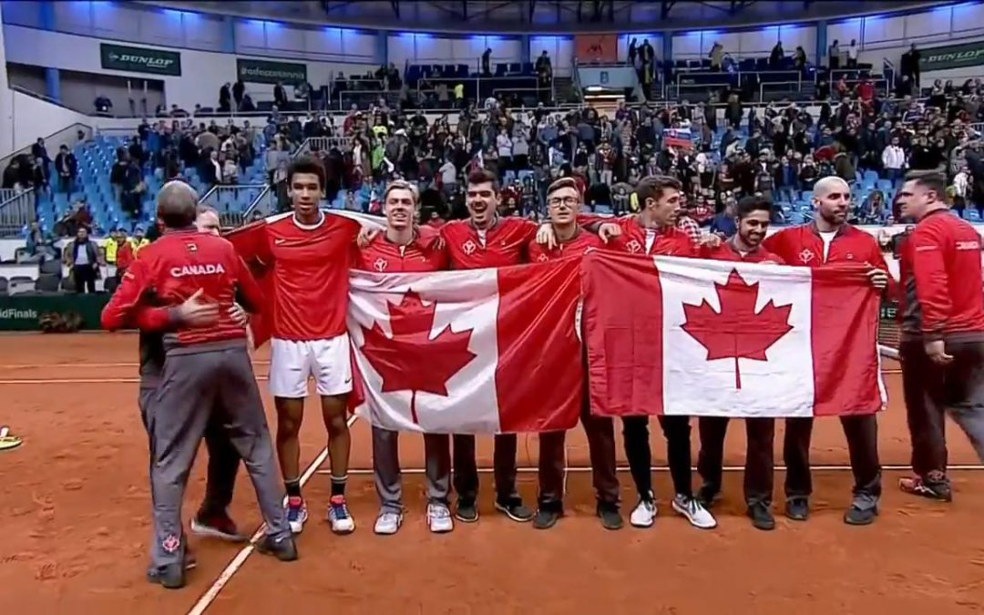 SPORTSNET TENNIS: Canada avoids 'Group of Death' in Davis Cup draw