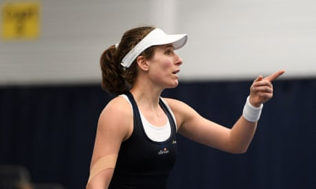 GUARDIAN TENNIS: Line call controversy clouds Great Britain's Fed Cup win over Greece