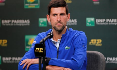 GUARDIAN TENNIS: Tennis the loser in feud between Novak Djokovic and Chris Kermode | Kevin Mitchell