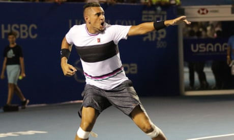 GUARDIAN TENNIS: Nick Kyrgios returns fire at Rafael Nadal 'respect' criticism