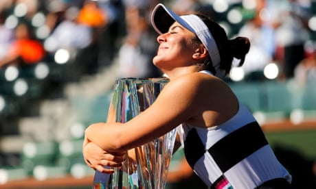GUARDIAN TENNIS: Bianca Andreescu: from teenage wildcard to 'Cinderella' of Indian Wells – video profile