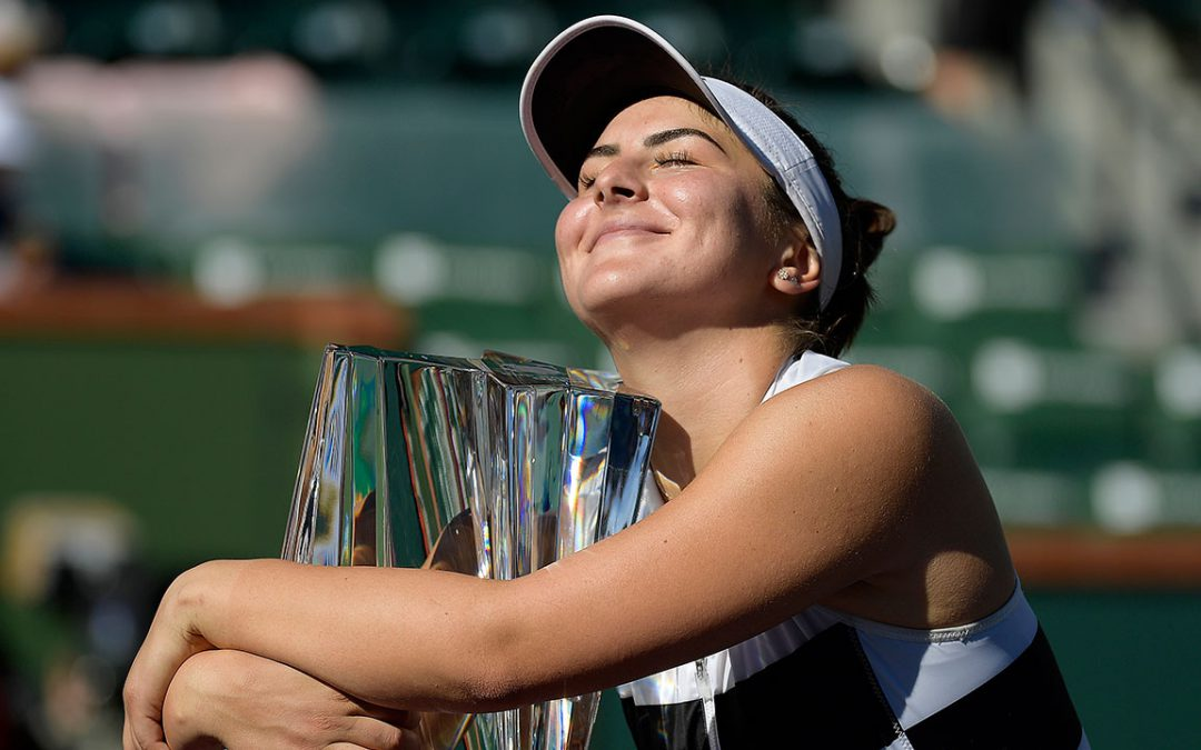SPORTSNET TENNIS: Indian Wells title highest peak yet in Bianca Andreescu's young career