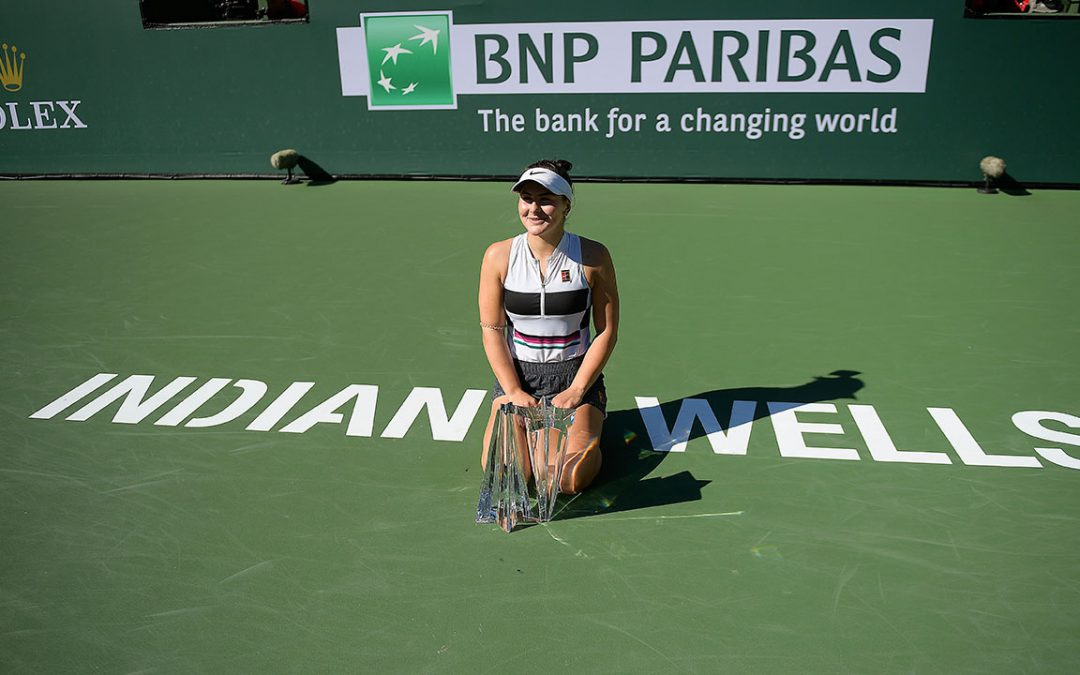 SPORTSNET TENNIS: Bianca Andreescu pulls off remarkable win at Indian Wells