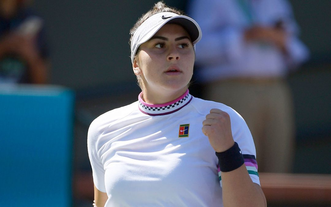 SPORTSNET TENNIS: Andreescu's success at Indian Wells 'just the beginning,' coach says