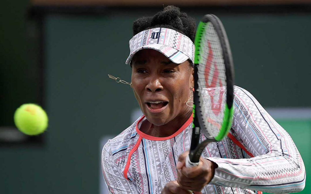 SPORTSNET TENNIS: Venus Williams advances in straight sets at Indian Wells