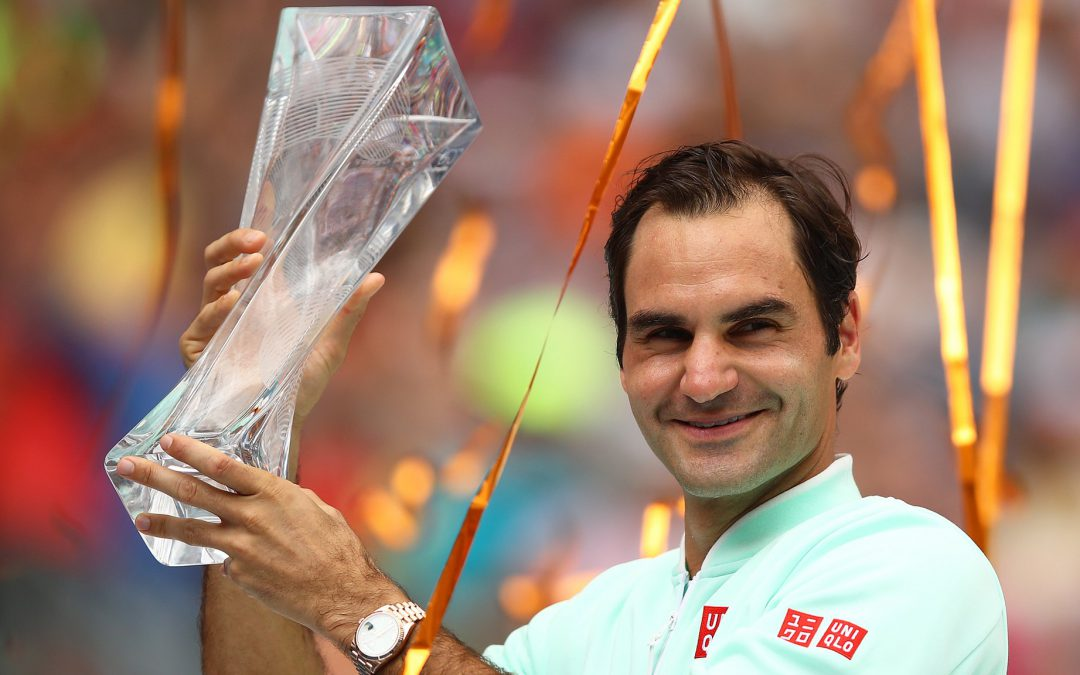BBC TENNIS: Federer wins 101st pro title as he cruises to Miami Open victory
