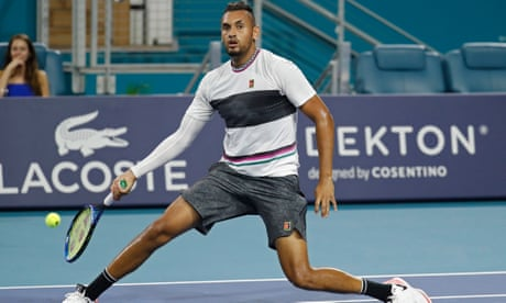 GUARDIAN TENNIS: Nick Kyrgios's underarm serving a rebellious act with echoes of Lenglen | Kevin Mitchell