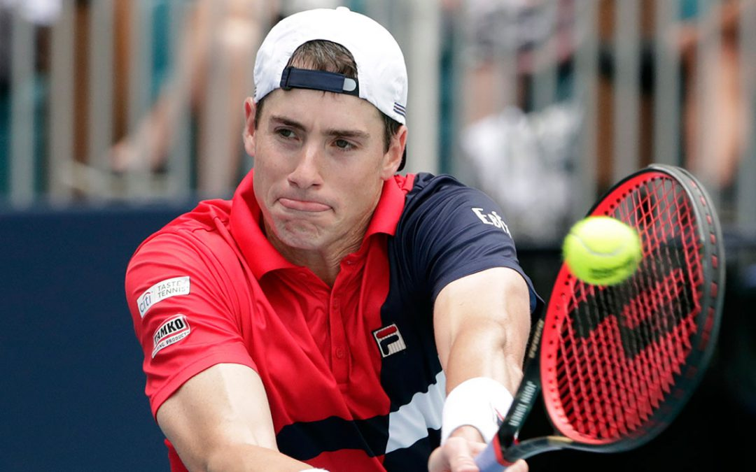 SPORTSNET TENNIS: John Isner redraws from US clay championship with injured foot