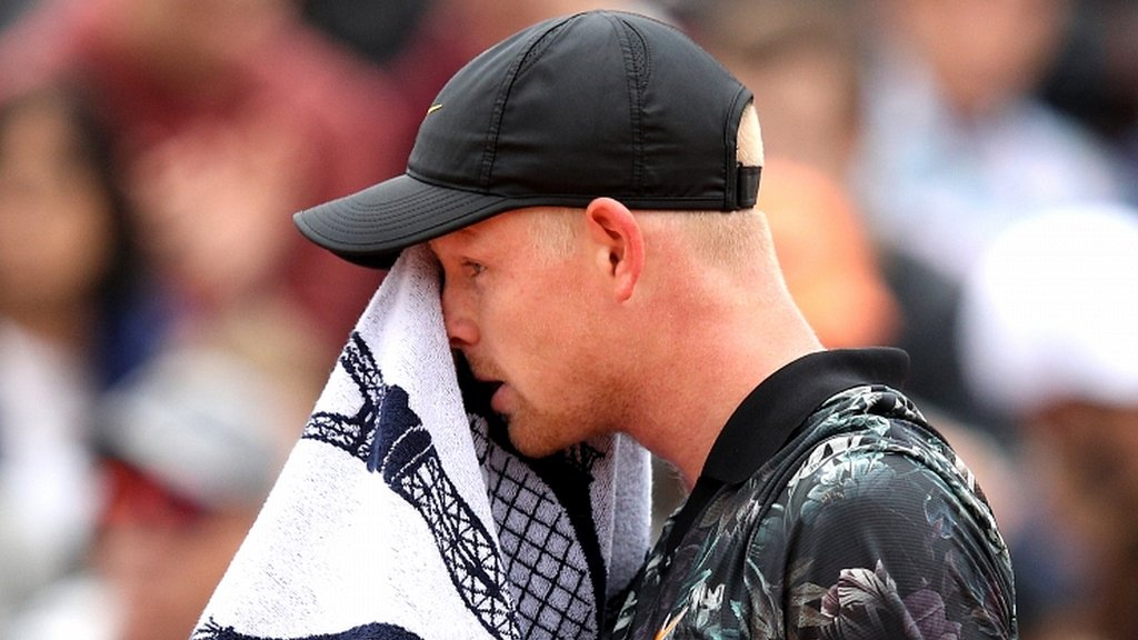 BBC TENNIS: 'It won't need surgery right now' – knee injury forces Edmund to quit French Open