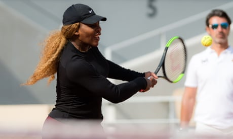 GUARDIAN TENNIS: For the unsinkable Serena Williams, the last step is proving the hardest