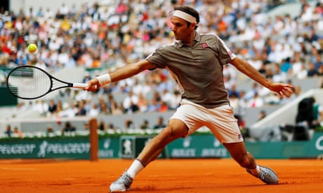 GUARDIAN TENNIS: French Open 2019 day one: Federer through, Kerber out –as it happened