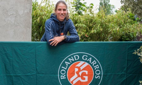 GUARDIAN TENNIS: French Open: Johanna Konta puts faith in good feeling to banish past failings
