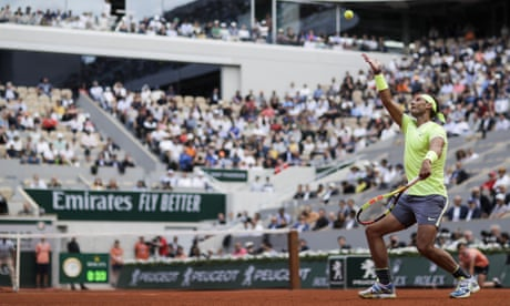 GUARDIAN TENNIS: Rafael Nadal home from home and looking for a round dozen at Roland Garros