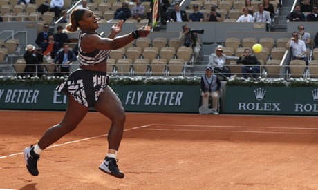 GUARDIAN TENNIS: 'Mother, champion': Serena Williams causes stir again with French Open outfit