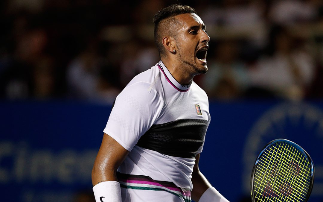 SPORTSNET TENNIS: Watch: Nick Kyrgios goes full Bobby Knight with chair-chucking tantrum