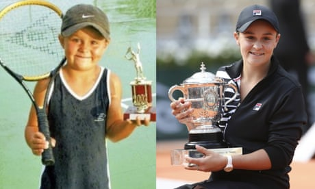 GUARDIAN TENNIS: 'The stars aligned': Ashleigh Barty's stormy journey to French Open glory – video