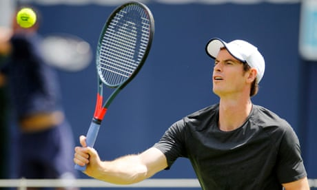 GUARDIAN TENNIS: Andy Murray says he is back in love with tennis as he prepares for Queen's