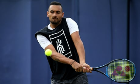 GUARDIAN TENNIS: Nick Kyrgios leads latest outpouring of disrespect towards top players