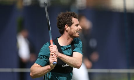 GUARDIAN TENNIS: Andy Murray to make Queen's doubles comeback against world's best