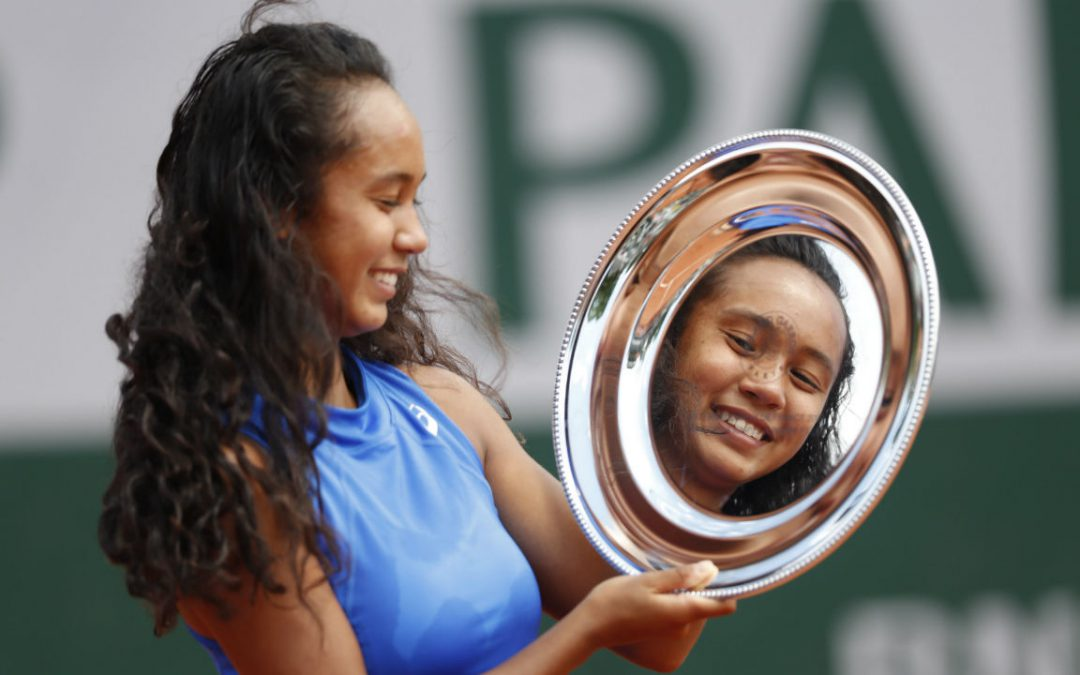 SPORTSNET TENNIS: Canada's Leylah Annie Fernandez wins French Open girls' title