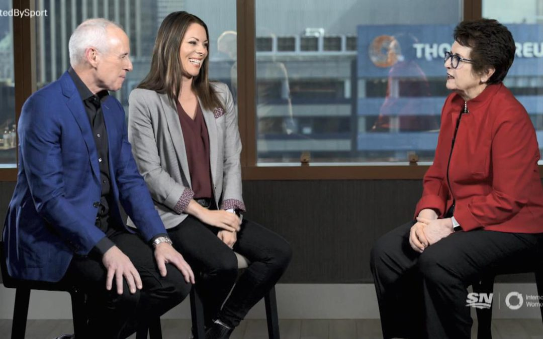 SPORTSNET TENNIS: Billie Jean King wants everyone to have 'the dream'